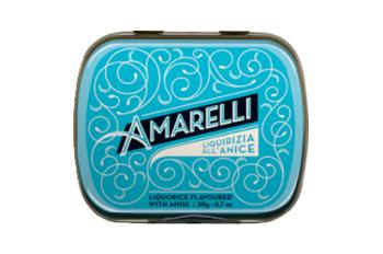 Blue Sky med Rombetti, ren lakrits med smak av anis, 20 g