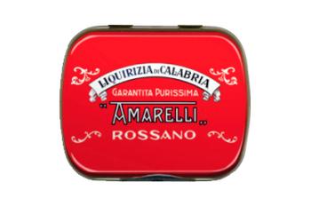 Rossa med Spezzatina, ren lakrits, 20 g