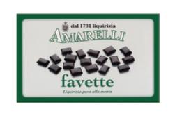 Favette, ren lakrits med smak av mint, 100 g