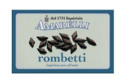 Rombetti, ren lakrits med smak av anis, 100 g