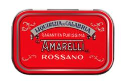 Rossa med Spezzatina, ren lakrits, 40 g