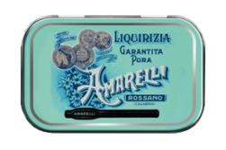 Medaglie med Spezzata, ren lakrits, 40 g